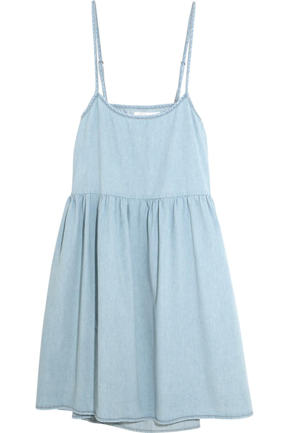 Denim Dress, Light Denim, Women's, Size: 3