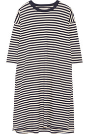 The Square striped cotton-jersey dress