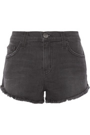 Current/Elliott The Gam stretch-denim shorts