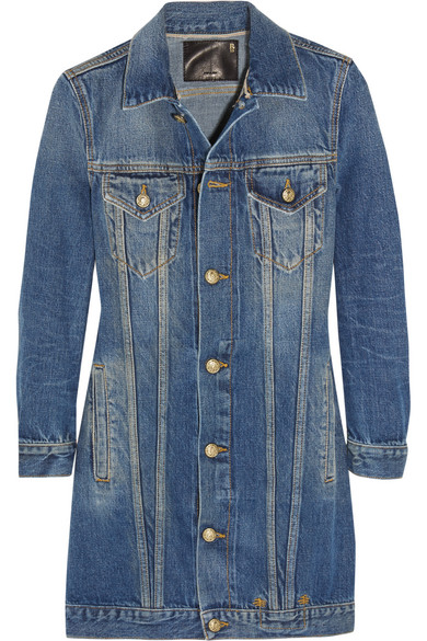 R13 - Denim Jacket - Mid denim