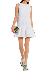 Markus Lupfer Primrose broderie anglaise cotton-blend mini dress