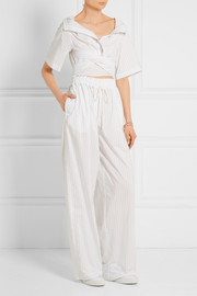 3.1 Phillip Lim Pinstriped poplin jumpsuit