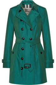 Burberry London The Sandringham Mid cotton-gabardine trench coat
