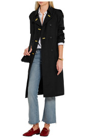 Burberry Prorsum Silk and wool-blend trench coat