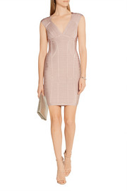 Hervé Léger Janne bandage mini dress