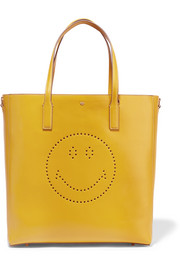 Ebury Smiley perforated leather tote