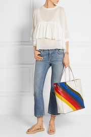 Anya Hindmarch Ebury Smiley perforated leather tote