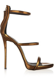 Giuseppe Zanotti Metallic leather sandals
