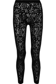 McQ Alexander McQueen Stretch-knit leggings