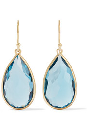 Ippolita Rock Candy® Teardrop 18-karat gold topaz earrings