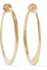 Ippolita Glamazon® 18-karat gold hoop earrings