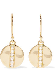 Ippolita Glamazon® Stardust 18-karat gold diamond earrings