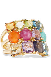 Ippolita Rock Candy® Cluster 18-karat gold multi-stone ring