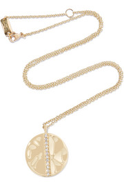 Glamazon® Stardust 18-karat gold diamond necklace
