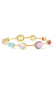 Ippolita Rock Candy® 18-karat gold multi-stone bangle