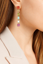 Ippolita Rock Candy® Linear 18-karat gold multi-stone earrings
