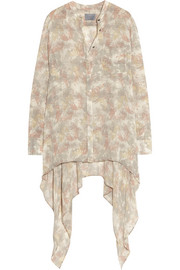 Maiyet Printed silk-georgette blouse