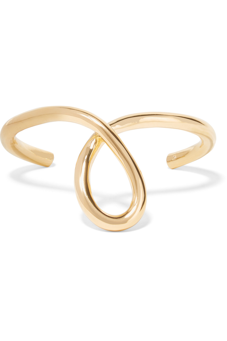 Jennifer Fisher Large Loop Gold-Plated Cuff, Women's