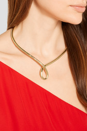 Jennifer Fisher Loop gold-plated choker
