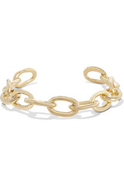XL Chain Link gold-plated choker