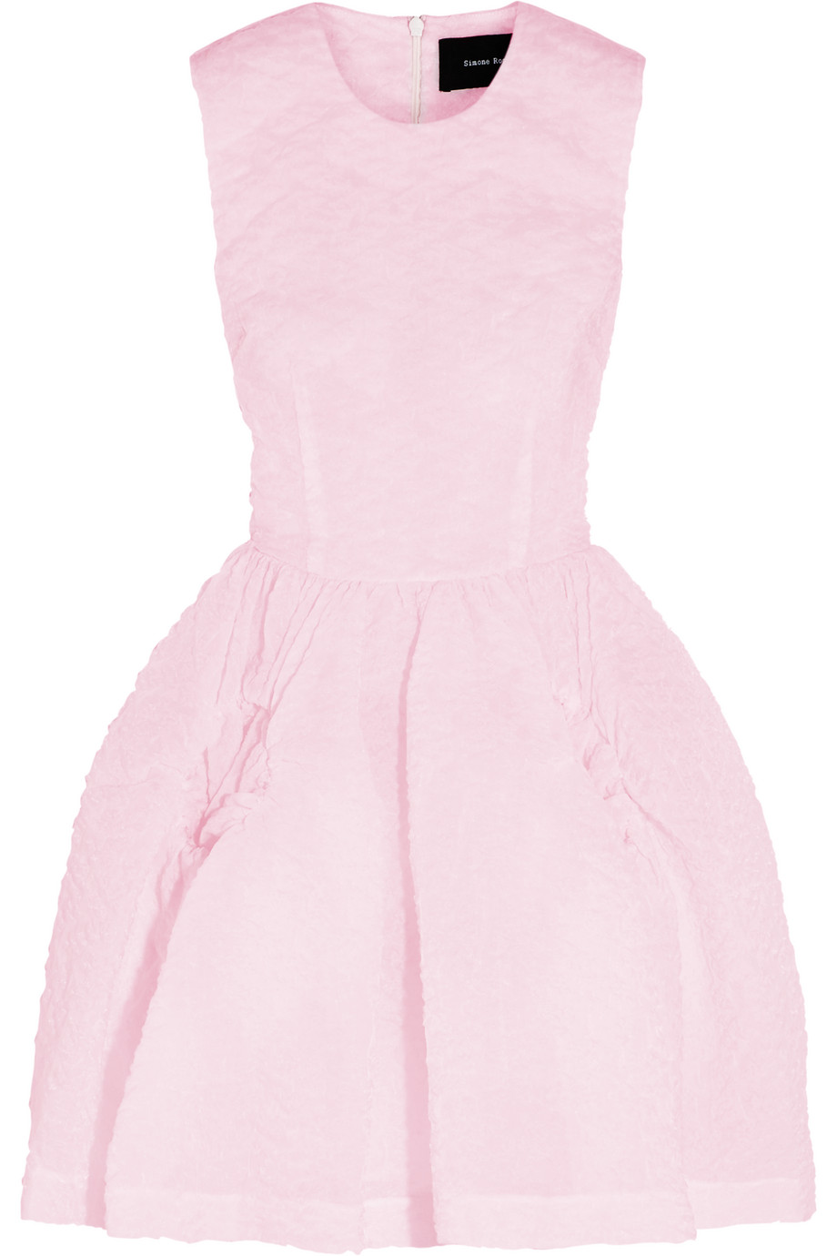 Simone Rocha Cloqué Mini Dress, Pink, Women's, Size: 8