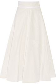 Bottega Veneta Cotton-canvas midi skirt
