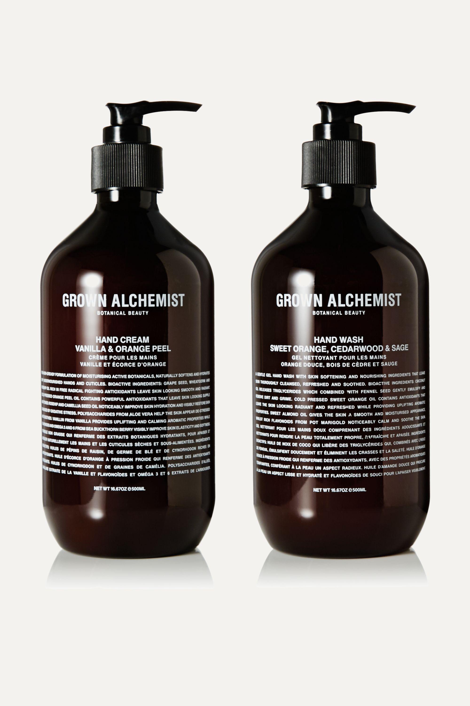 Grown Alchemist Hand Wash & Hand Cream Twin Set, 2 x 500ml