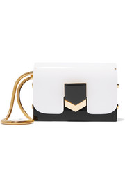 Jimmy Choo Lockett two-tone acrylic clutch
