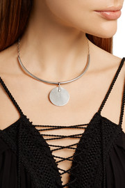 Silver-plated necklace
