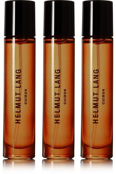 helmut lang female helmut lang cuiron eau de cologne italian bergamot italian mandarin oil pink peppercorn 3 x 10ml