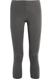 IVY PARK Cropped stretch-jersey leggings