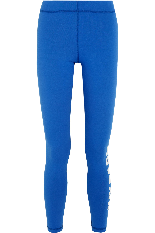 IVY PARK Printed stretch-jersey leggings