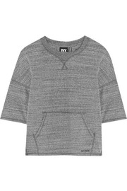 IVY PARK Split-back stretch-jersey sweatshirt
