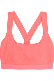 Stretch-jersey sports bra