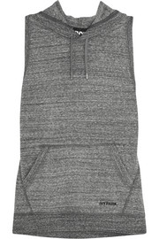IVY PARK Open-back stretch-jersey hooded top