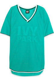 IVY PARK Embroidered mesh T-shirt