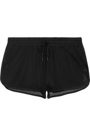 IVY PARK Perforated stretch-jersey shorts