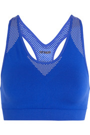 IVY PARK Printed stretch-jersey sports bra