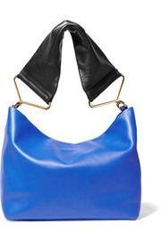 Maxi Strap leather shoulder bag