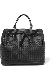 Bottega Veneta Messenger medium intrecciato leather tote
