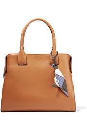 Cape large leather tote