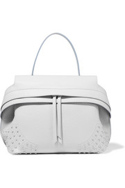 Tod's Wave medium textured-leather tote