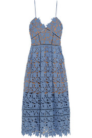 Azaelea guipure lace dress