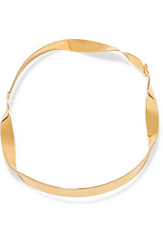 Gold-plated choker