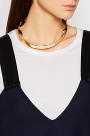 Marni Gold-plated choker