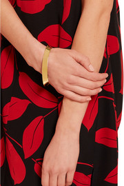 Marni Enameled gold-plated bracelet