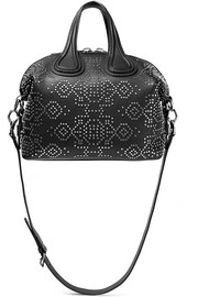 Givenchy Small Nightingale shoulder bag in embellished black leather