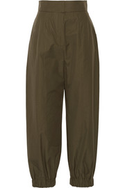 Fendi Cotton-poplin tapered pants
