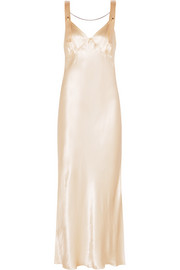 Calvin Klein Collection Gadow embellished satin gown