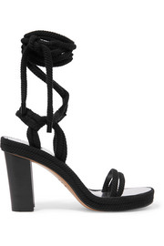 Isabel Marant Macylli lace-up cord sandals